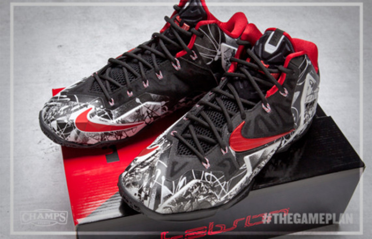 """The Game Plan by Champs Sports - Nike LeBron 11 """"Graffiti"""" Collection - 1"""