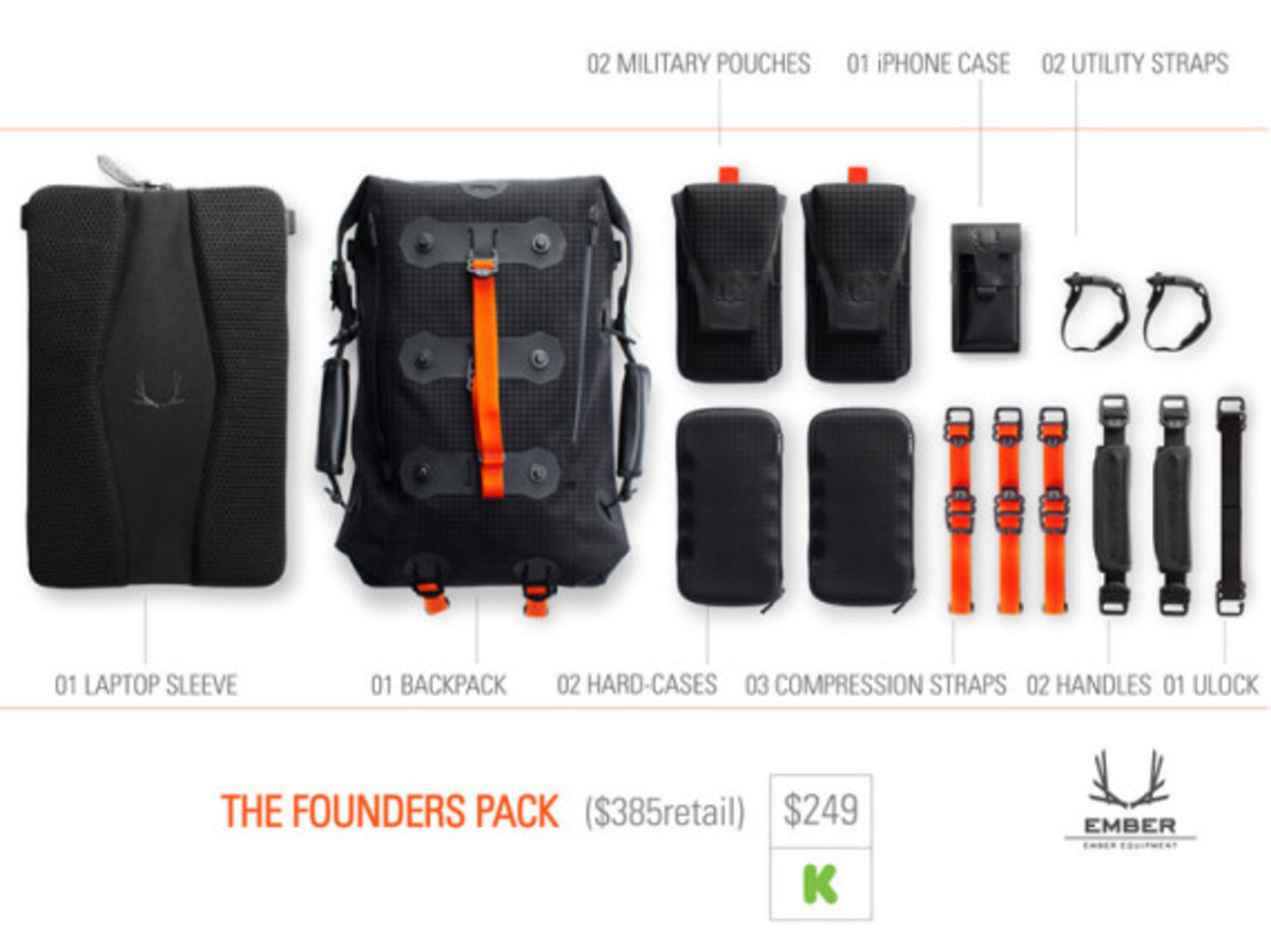 Modular Urban Backpack by EMBER EQUIPMENT - 13