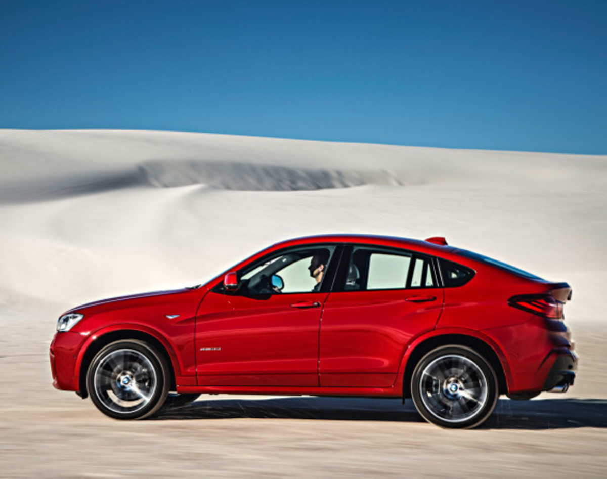 BMW X4 Sports Activity Coupe - Officially Unveiled - 12