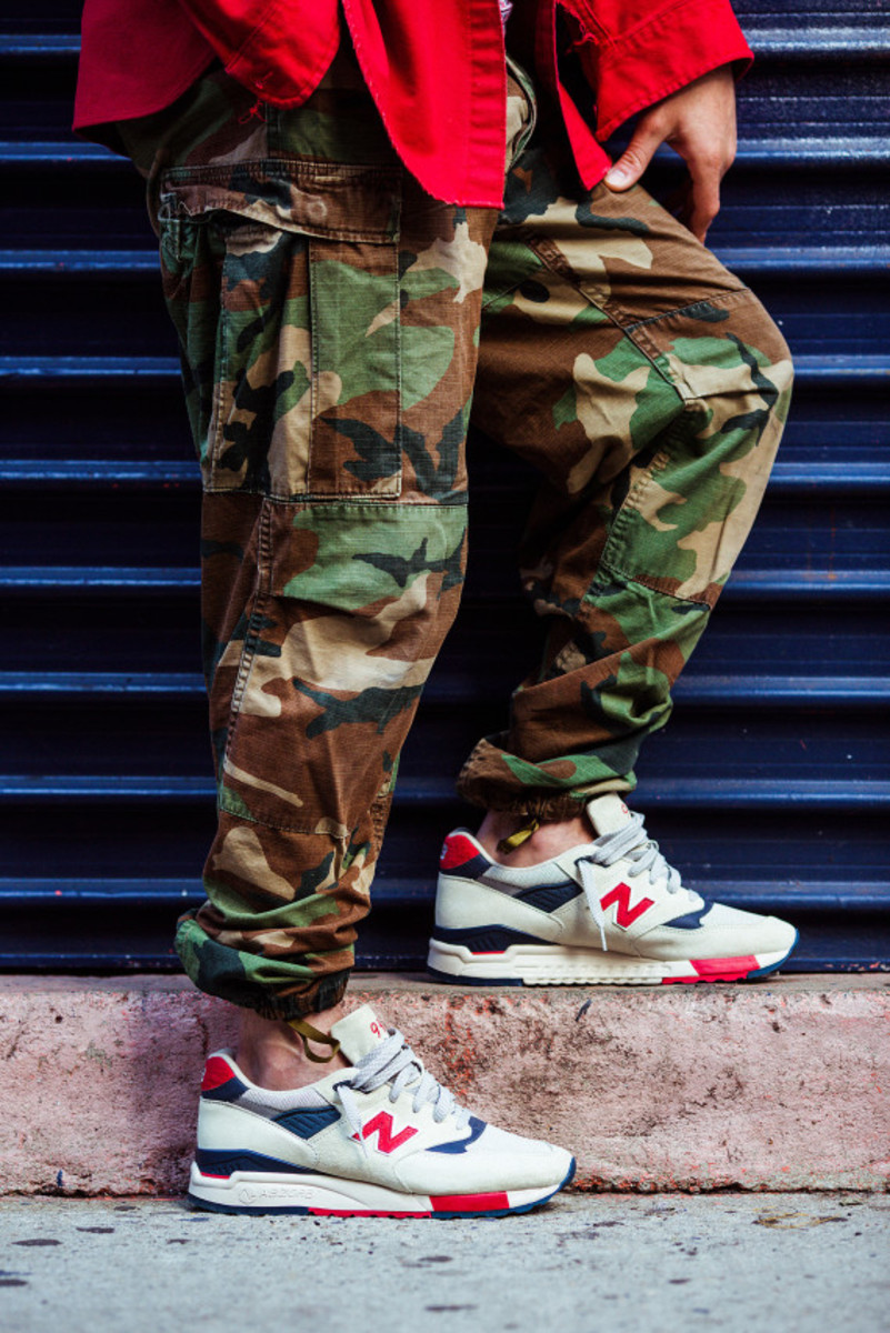 J.Crew x New Balance 998 Independence Day - 3