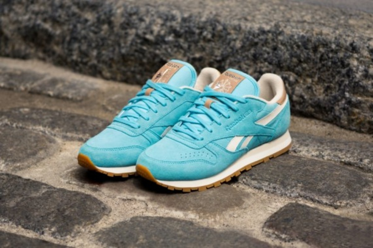 "Reebok Classic Leather - ""Summer Suede"" Pack - 4"