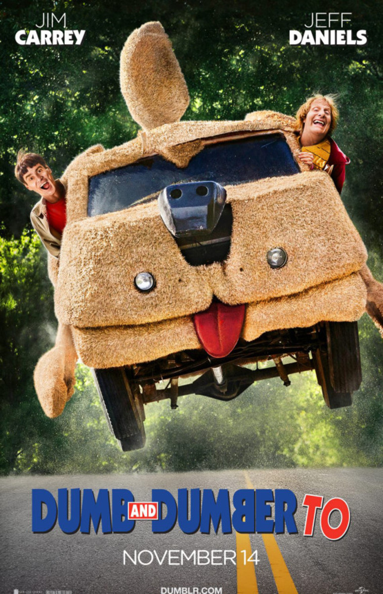 Dumb and Dumber To - Official Movie Poster - 1