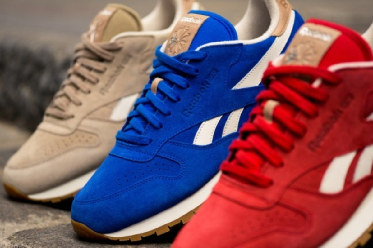 "Reebok Classic Leather - ""Summer Suede"" Pack - 8"