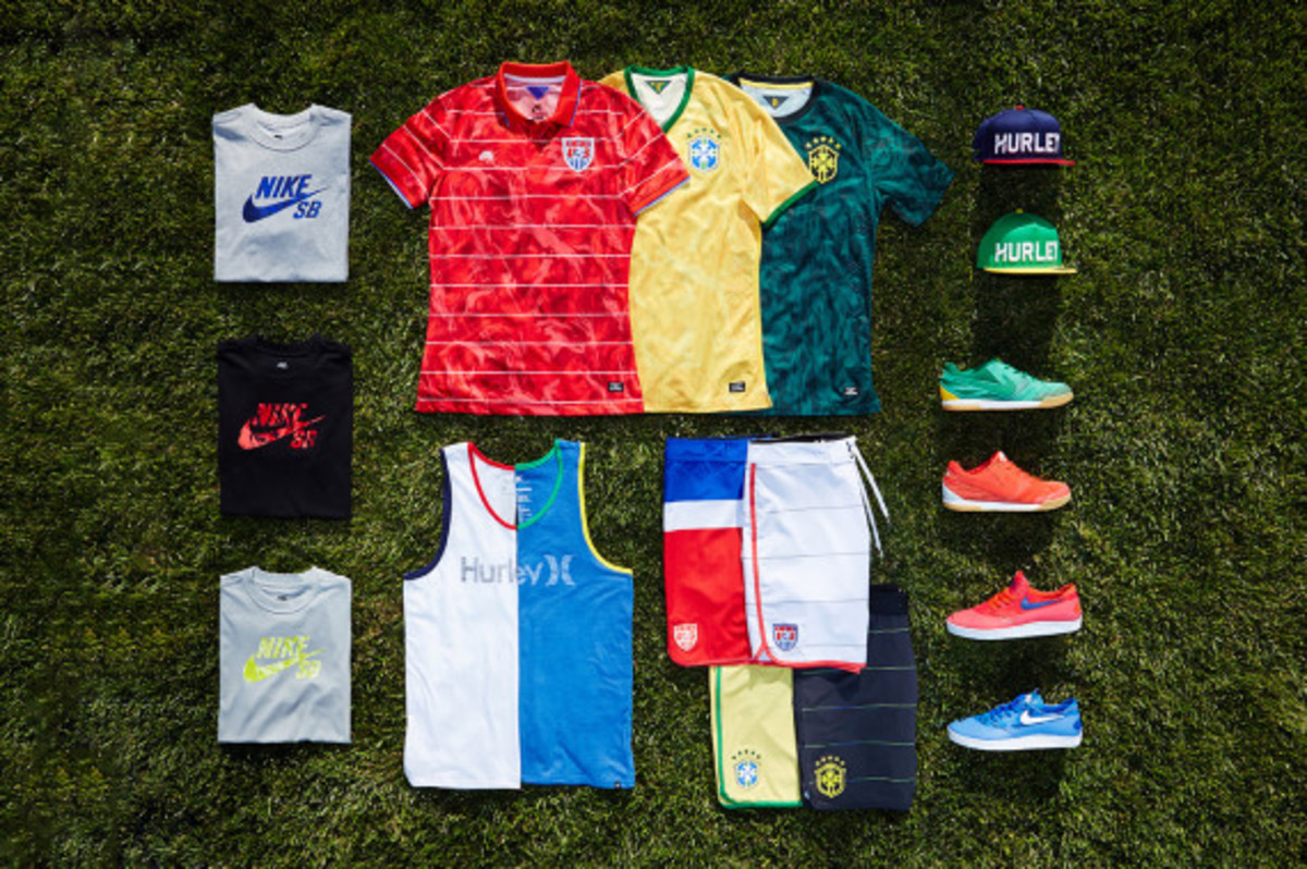 "Hurley x Nike SB - ""National Teams"" Collection for 2014 FIFA World Cup - 1"