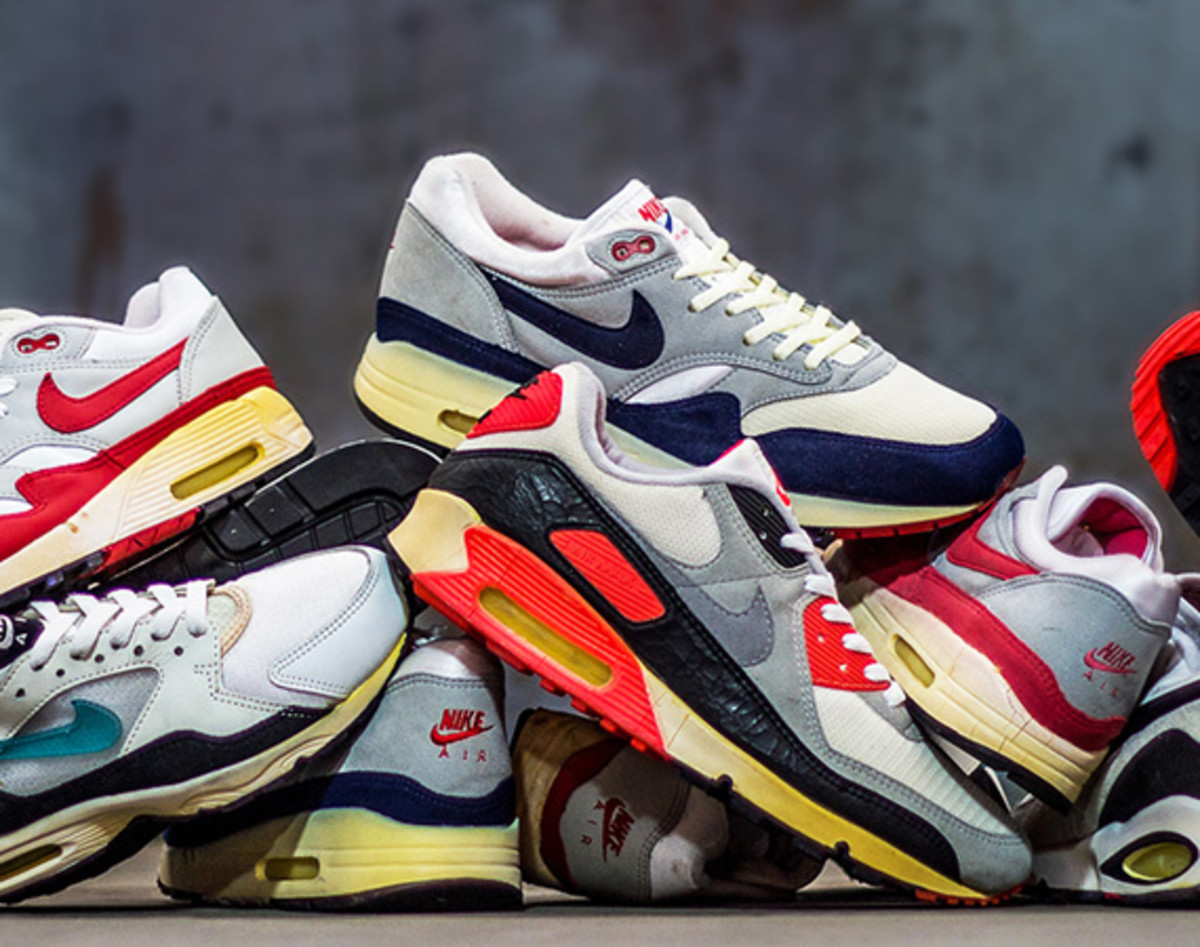 huge selection of 94c8f 8e710 UBIQ Opens Its Nike Sneakers Vault for Air Max Day