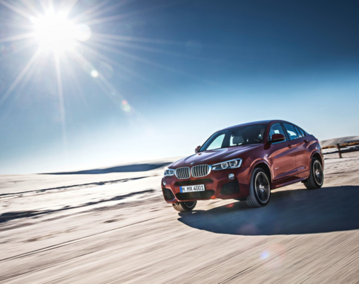 BMW X4 Sports Activity Coupe - Officially Unveiled - 7