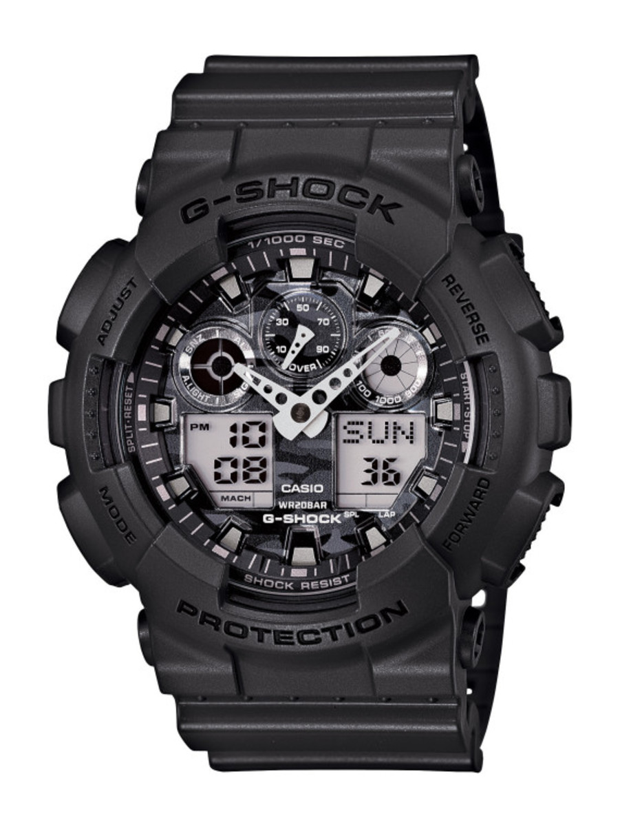 Casio G-Shock - Camo Plated Dial Semi Glossy Series - 5