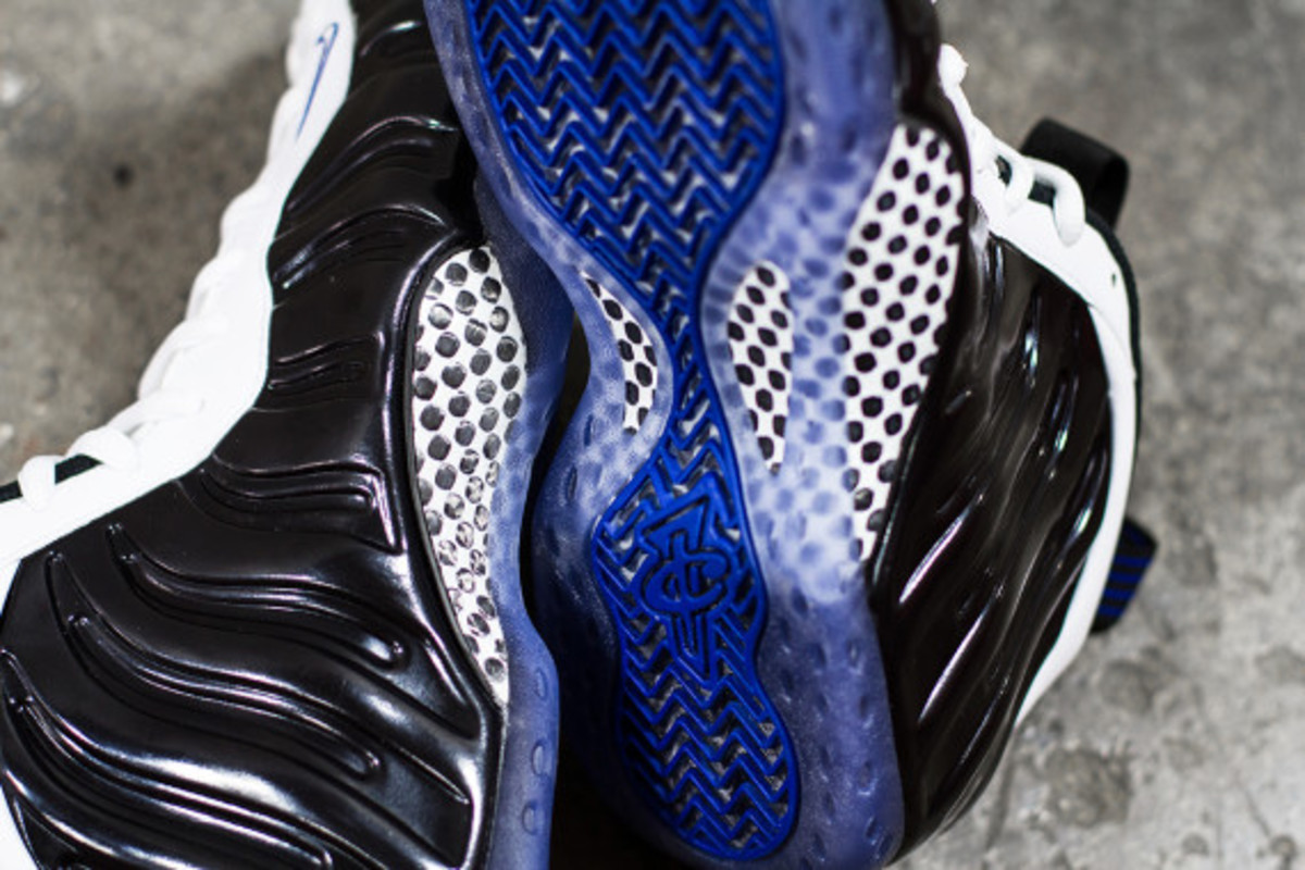 "Nike Air Foamposite One - ""Black White/Concord"" 