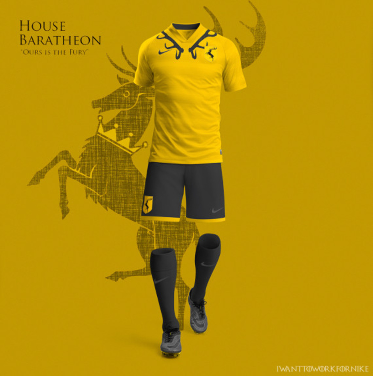 Game of Thrones-inspired Nike Soccer Kit Concepts by Nerea Palacios - 9