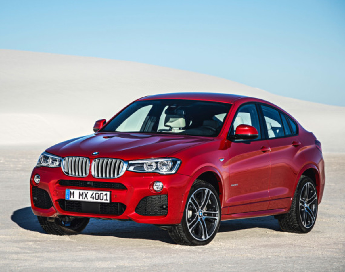 BMW X4 Sports Activity Coupe - Officially Unveiled - 14
