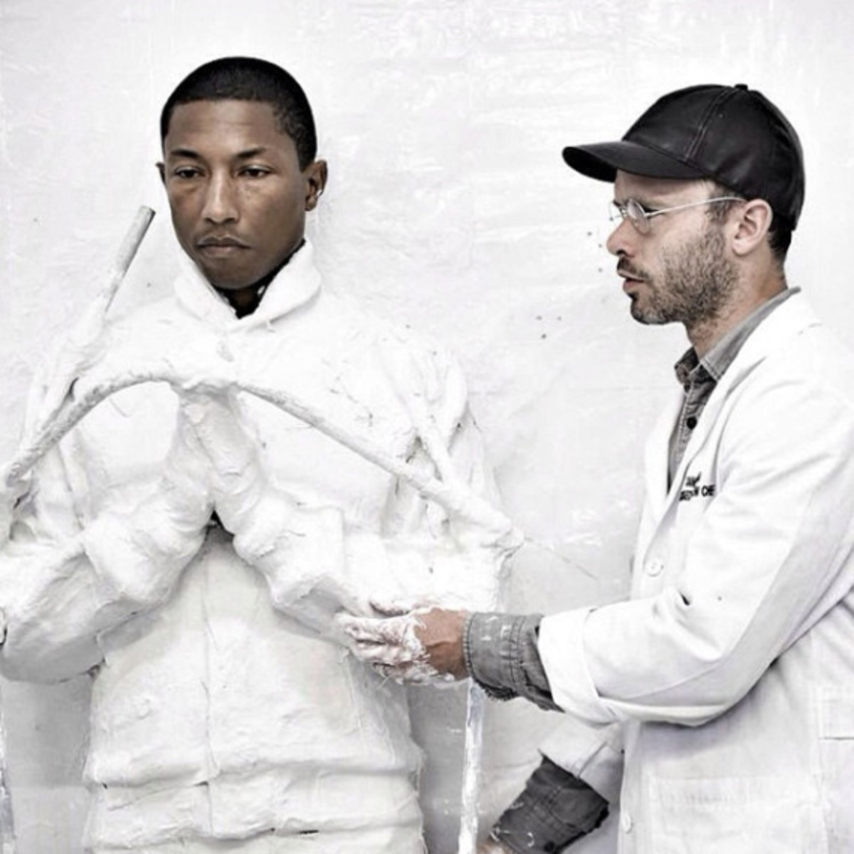 "Preview of Daniel Arsham and Pharrell Williams' Collaboration for ""G I R L"" Exhibition - 0"