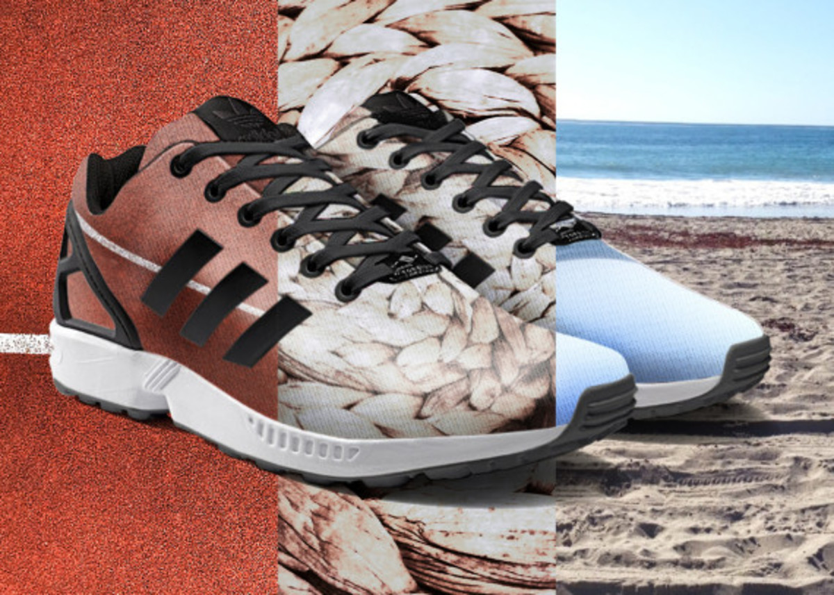 adidas ZX Flux To Become mi Adidas Design Option with Photorealistic Print - 10
