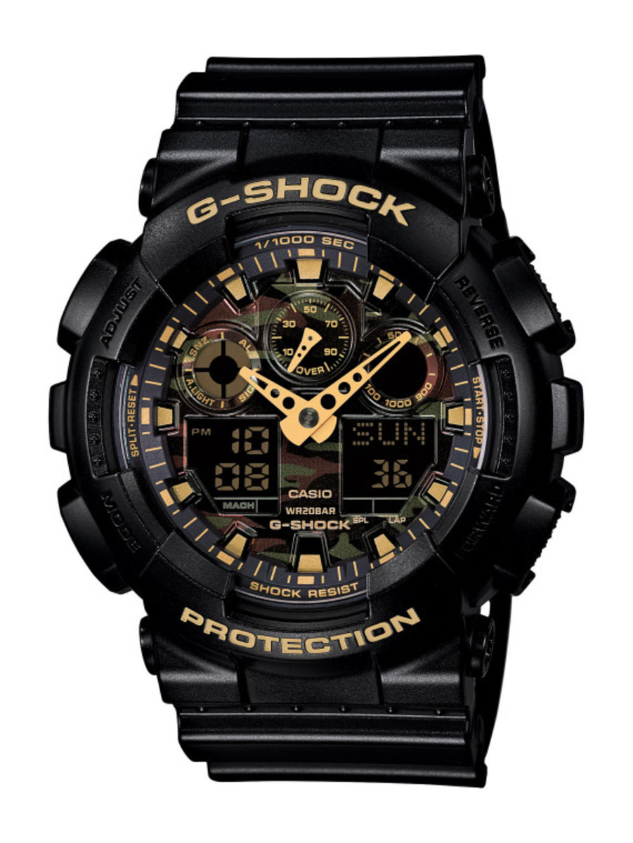 Casio G-Shock - Camo Plated Dial Semi Glossy Series - 3