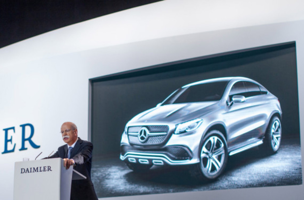 Mercedes-Benz Concept Coupe SUV - MLC Luxury Crossover - 2