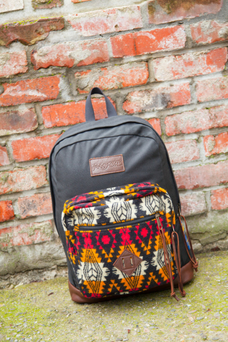 """Benny Gold x JanSport x Pendleton - Spring 2014 Limited Edition """"Right"""" Pack - 9"""