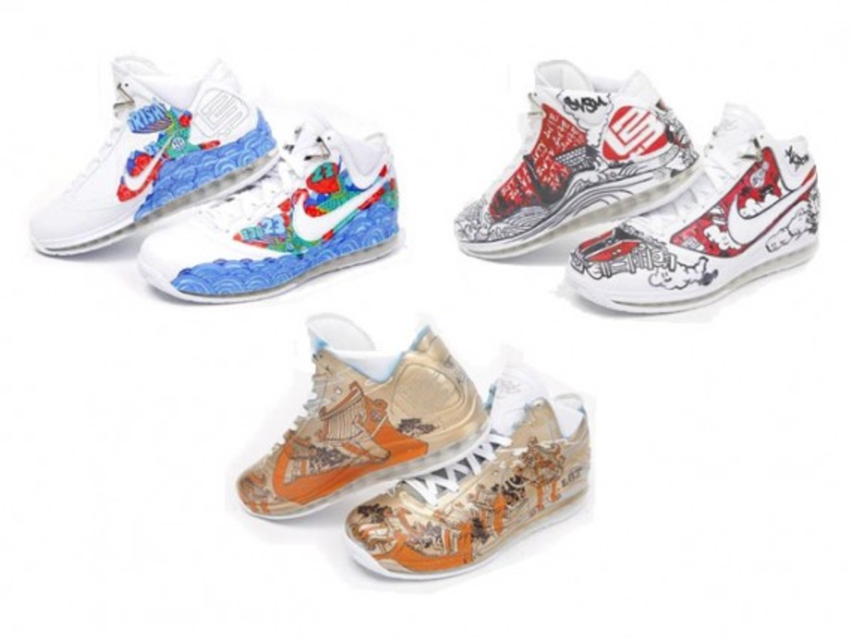 Nike  Air Max LeBron VII (7) - More Than A Game Artist Series - China - 0