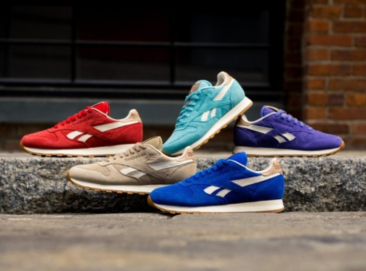 "Reebok Classic Leather - ""Summer Suede"" Pack - 0"