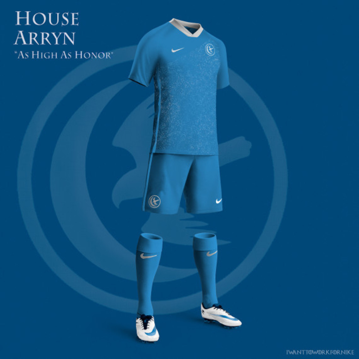 Game of Thrones-inspired Nike Soccer Kit Concepts by Nerea Palacios - 5