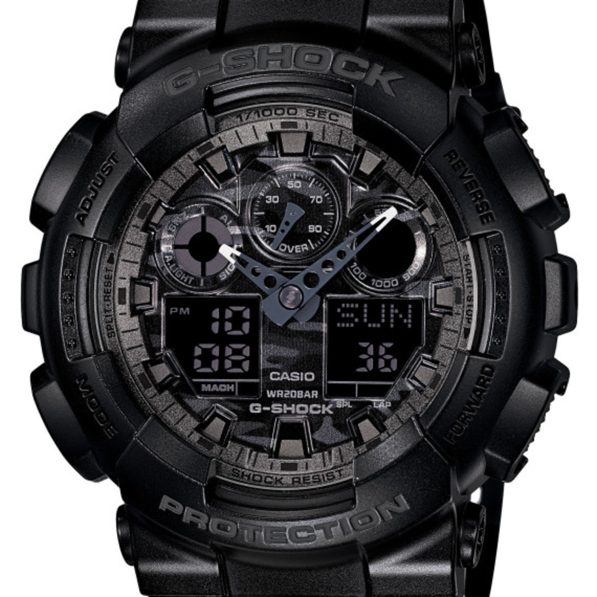 Casio G-Shock - Camo Plated Dial Semi Glossy Series - 2