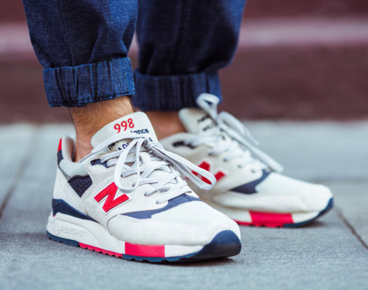 J.Crew x New Balance 998 Independence Day - 1