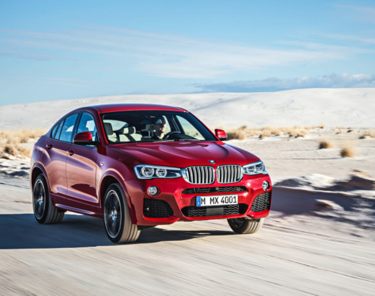 BMW X4 Sports Activity Coupe - Officially Unveiled - 1