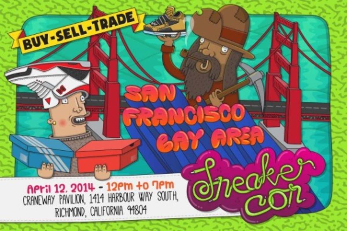 Sneaker Con San Francisco/Bay Area - April 12th, 2014 | Event Reminder - 0