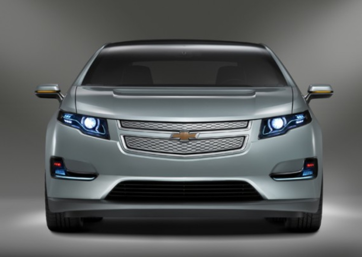 2011 Chevrolet Volt Production Show Car (© GM Corp.)