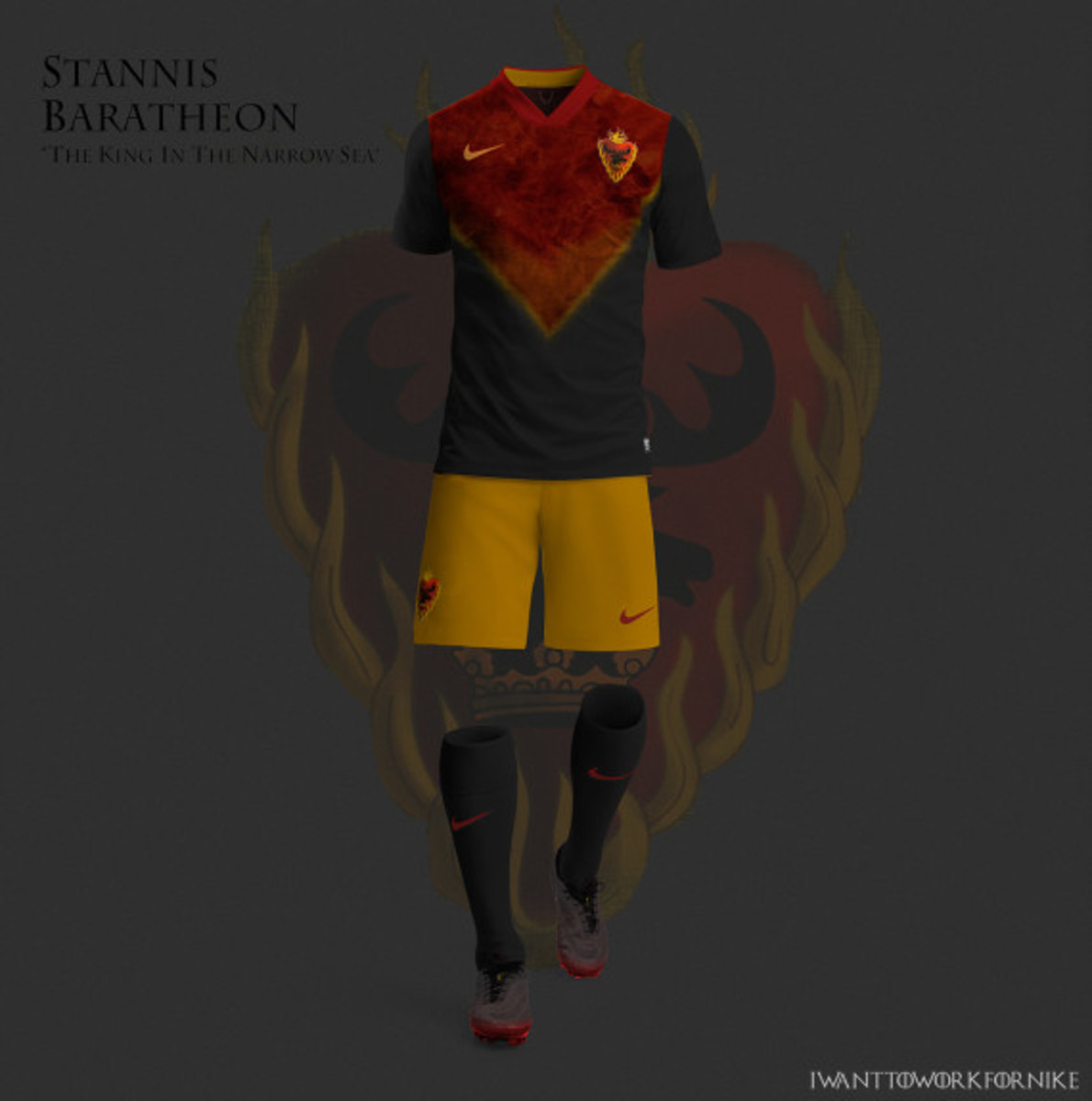 Game of Thrones-inspired Nike Soccer Kit Concepts by Nerea Palacios - 10