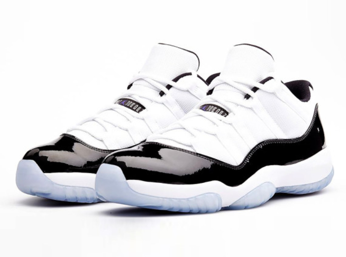 "quality design d094e f6ddf Air Jordan 11 Low – ""Concord""   Release Reminder"