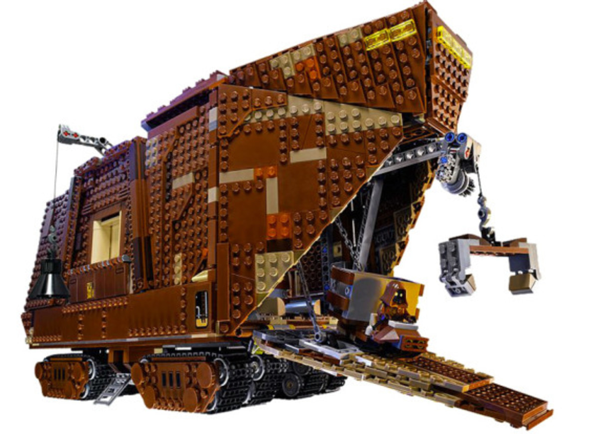 LEGO x Star Wars - Jawas Sandcrawler | For May The 4th Day - 0