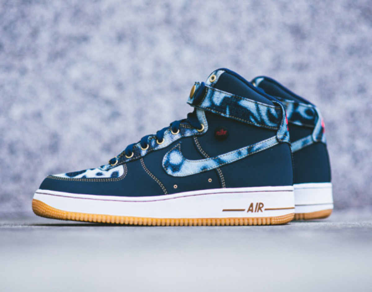 Nike Air Force 1 - Acid Wash Denim Pack  20fd32c714