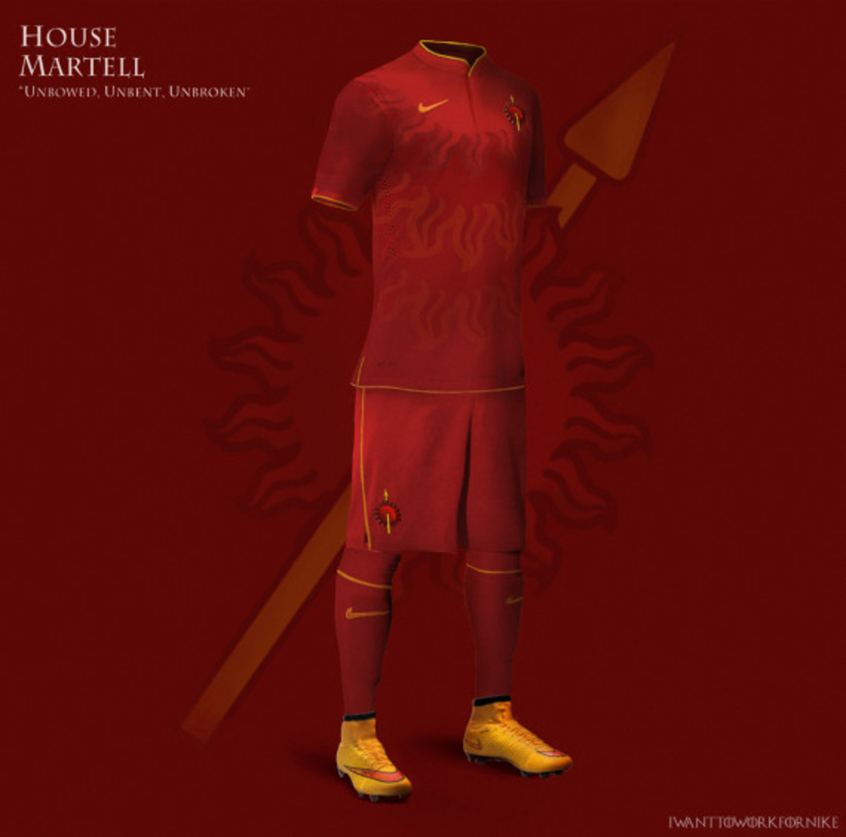 Game of Thrones-inspired Nike Soccer Kit Concepts by Nerea Palacios - 11