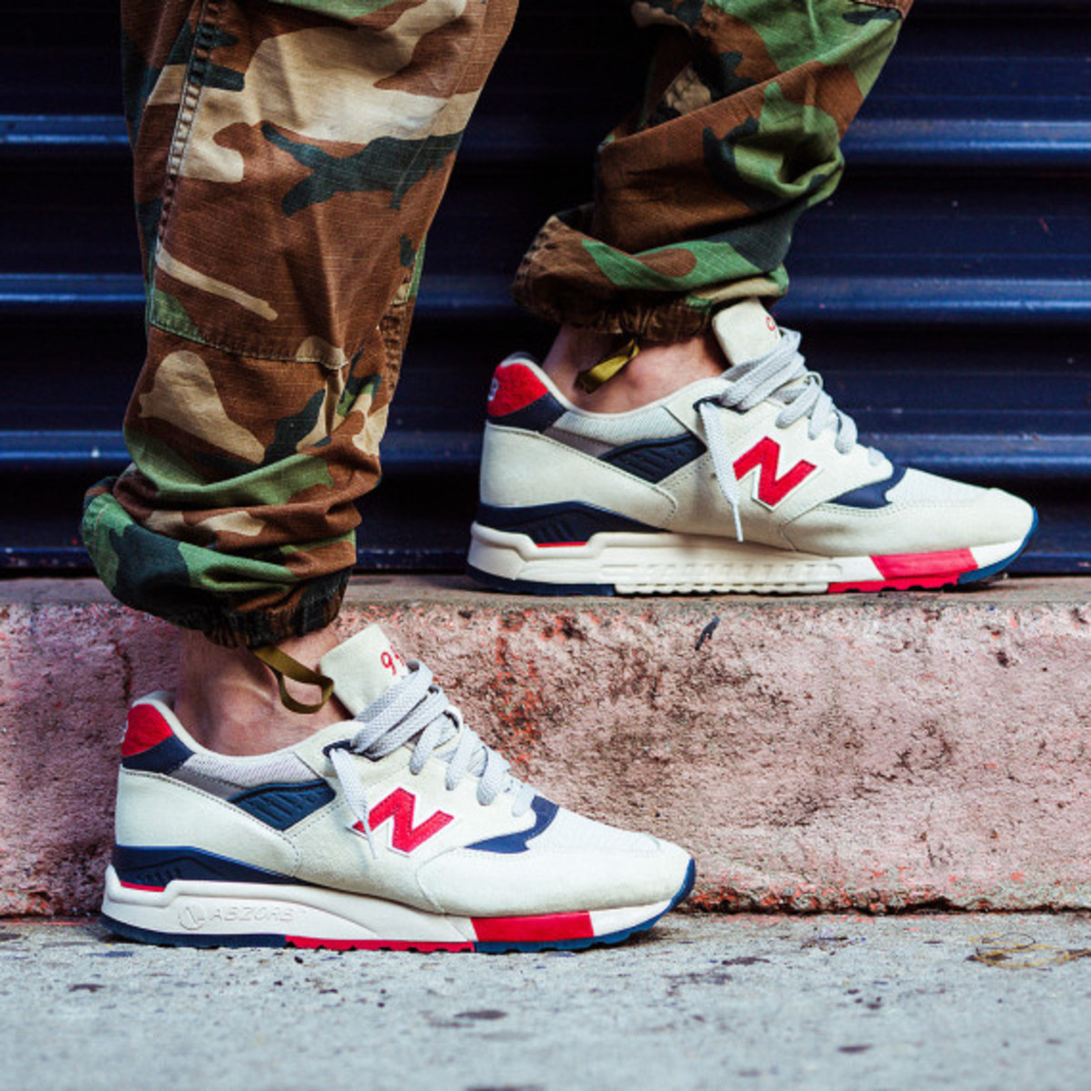 J.Crew x New Balance 998 Independence Day - 0