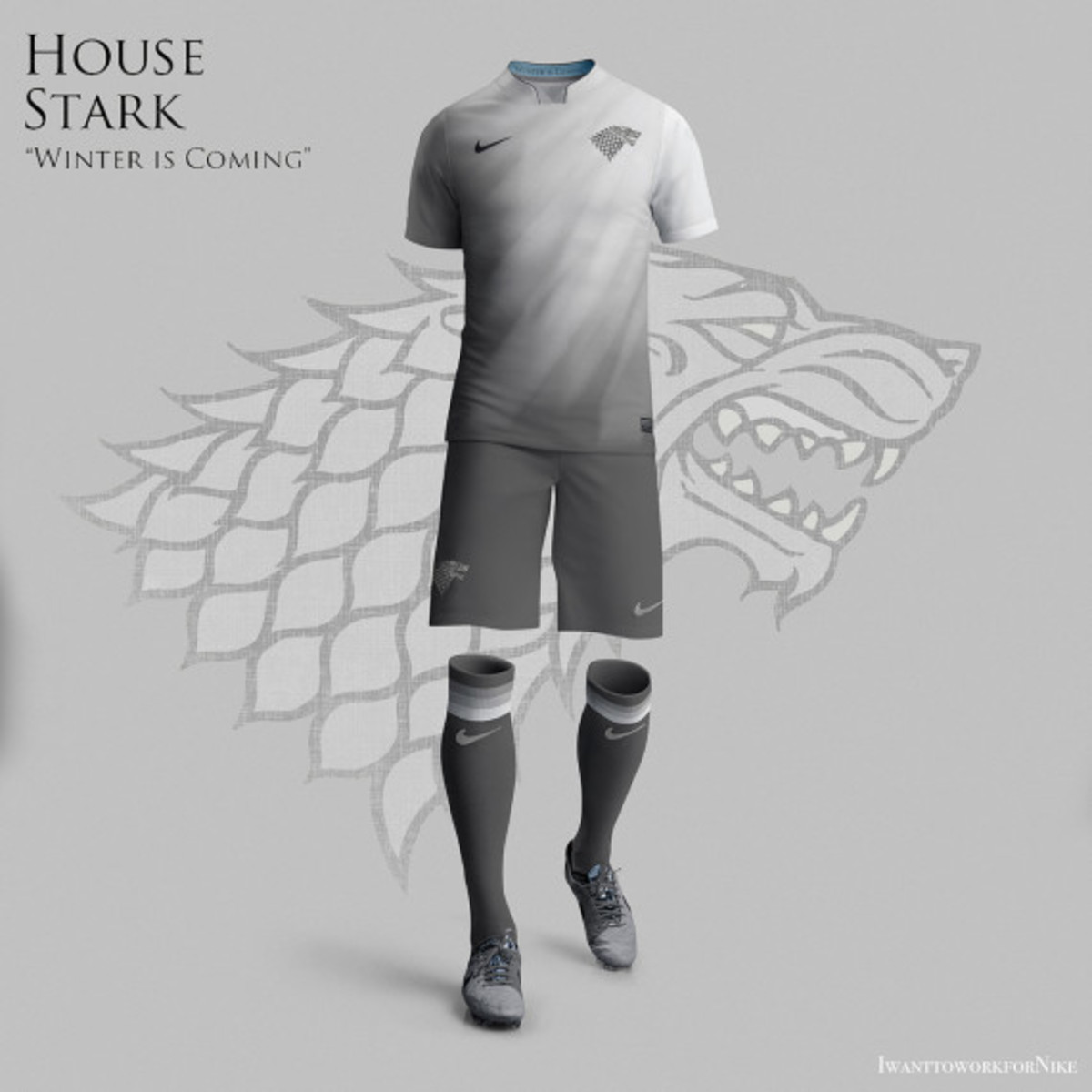 Game of Thrones-inspired Nike Soccer Kit Concepts by Nerea Palacios - 0