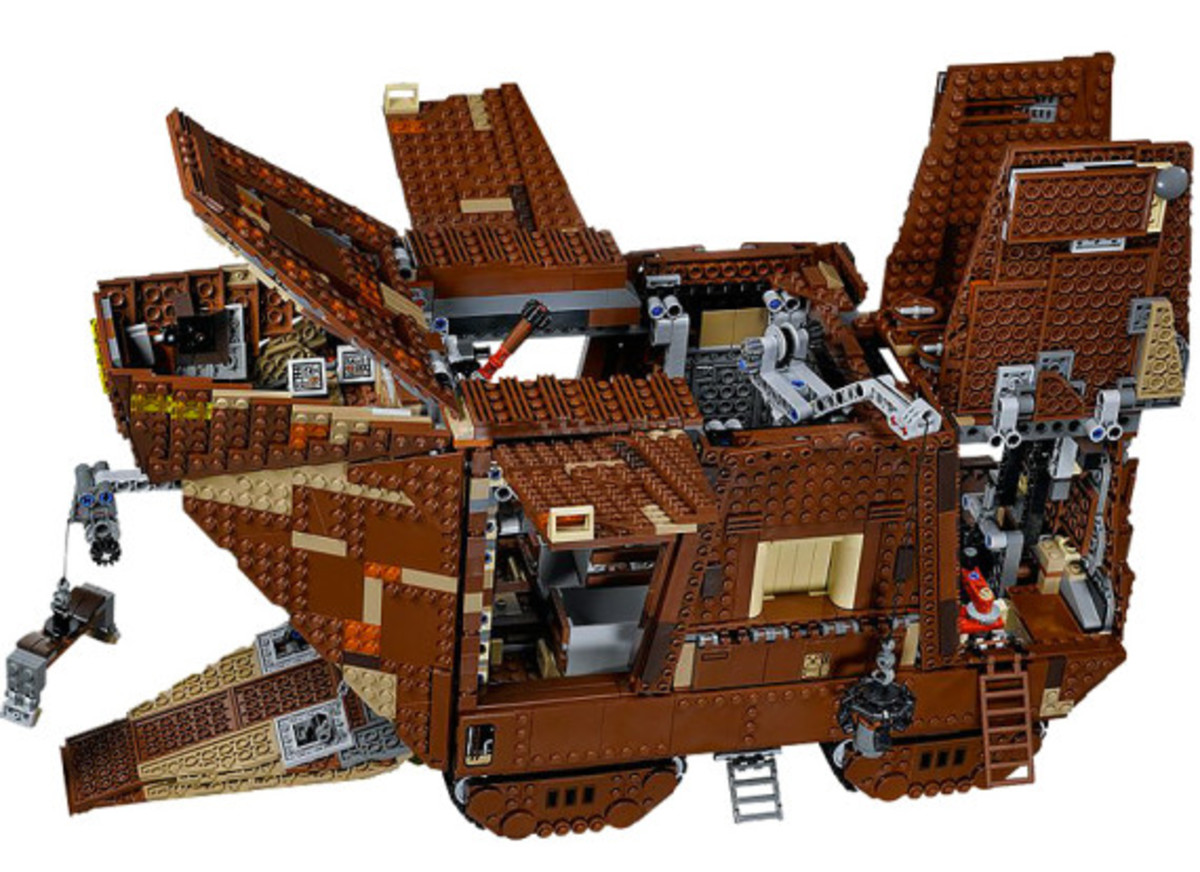 LEGO x Star Wars - Jawas Sandcrawler | For May The 4th Day - 6