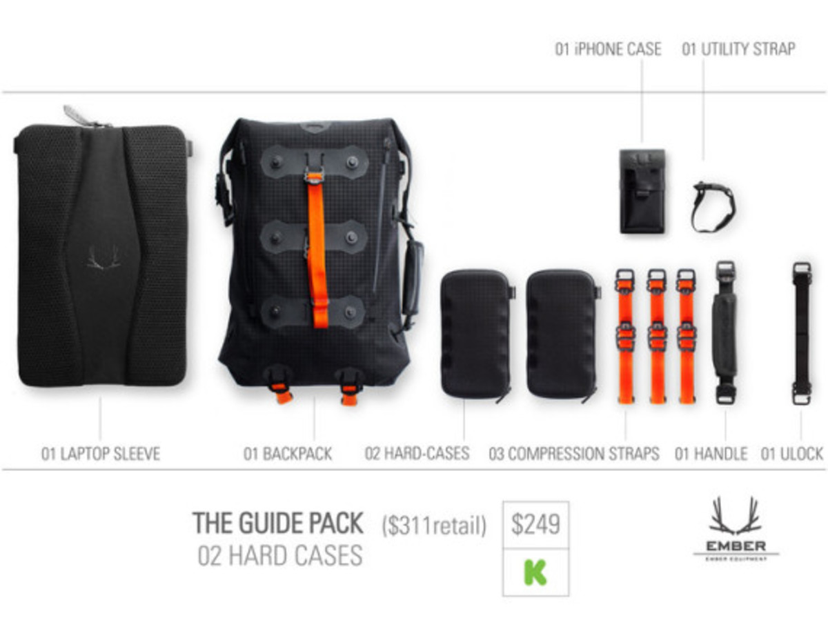 Modular Urban Backpack by EMBER EQUIPMENT - 12