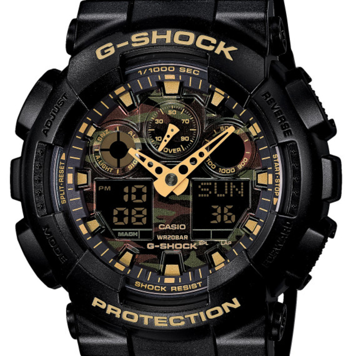 Casio G-Shock - Camo Plated Dial Semi Glossy Series - 0
