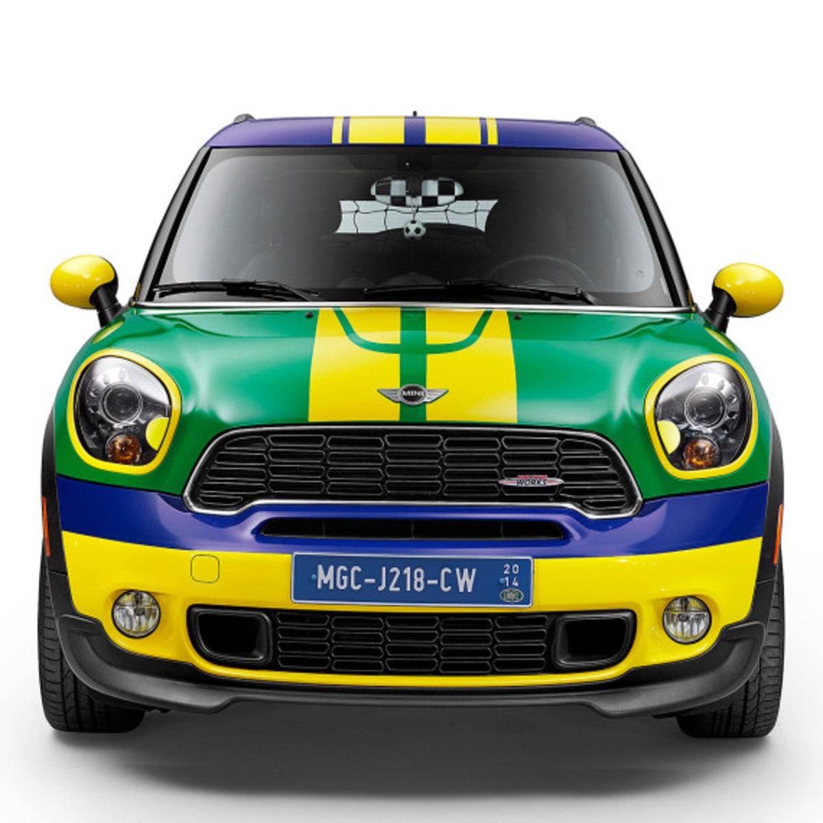MINI Paceman GoalCooper - Featuring Soccer Pitch and Auto Tailgate Goalkeeper - 0