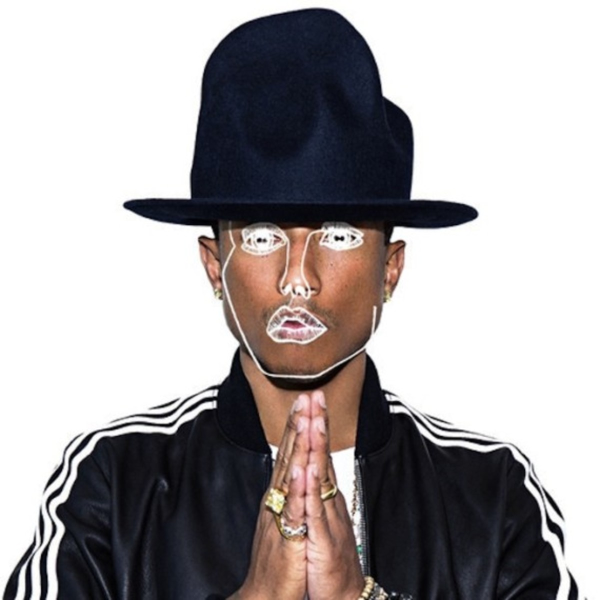 "Pharrell - ""Frontin'"" Featuring Jay Z - Disclosure Remix - 0"