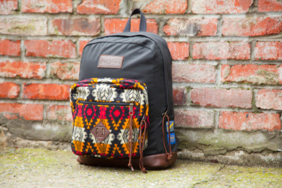 """Benny Gold x JanSport x Pendleton - Spring 2014 Limited Edition """"Right"""" Pack - 11"""