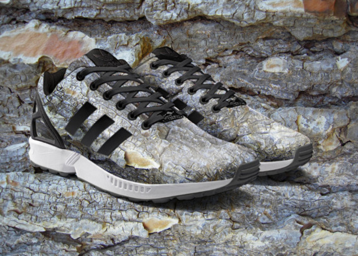 adidas ZX Flux To Become mi Adidas Design Option with Photorealistic Print - 3