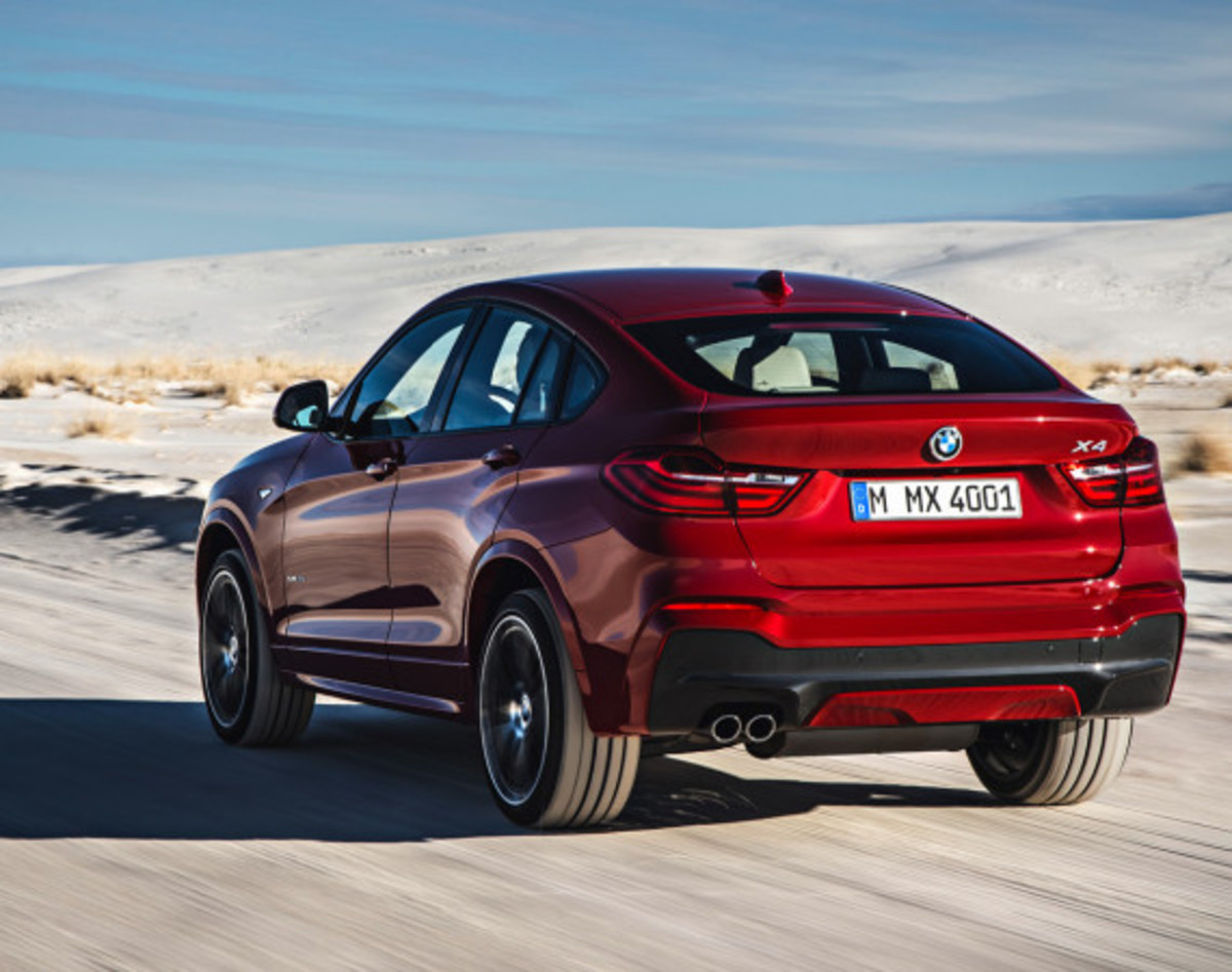 BMW X4 Sports Activity Coupe - Officially Unveiled - 11