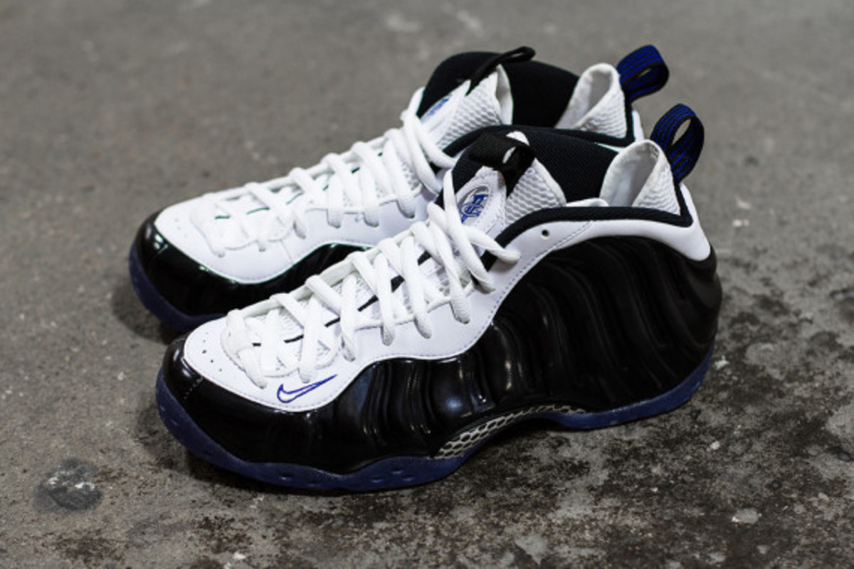 746e10830ed18 ... ebay nike air foamposite one black white concord detailed f4595 5d984