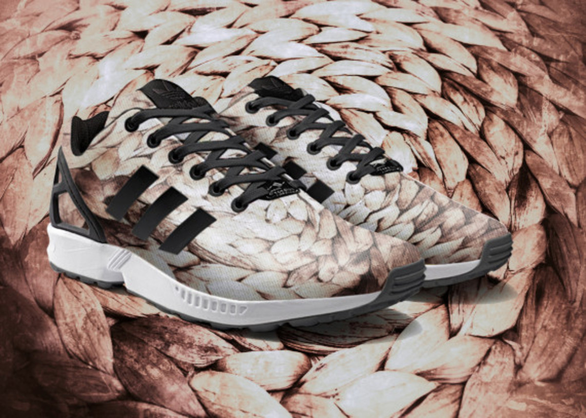 adidas ZX Flux To Become mi Adidas Design Option with Photorealistic Print - 5