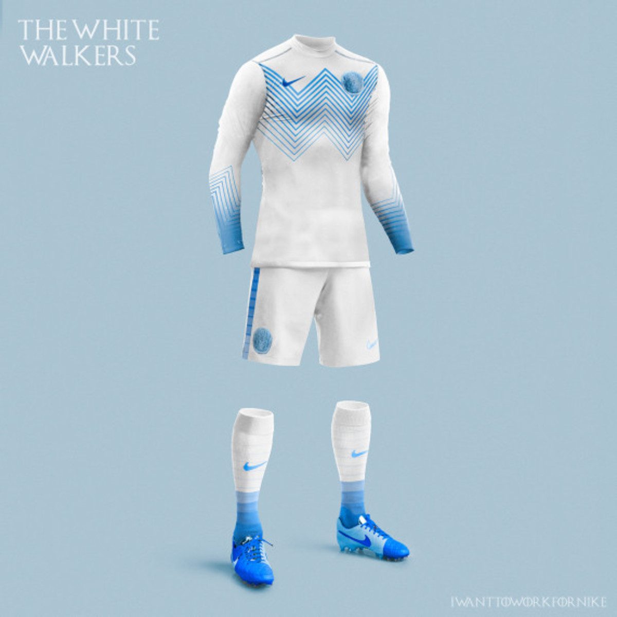 Game of Thrones-inspired Nike Soccer Kit Concepts by Nerea Palacios - 1