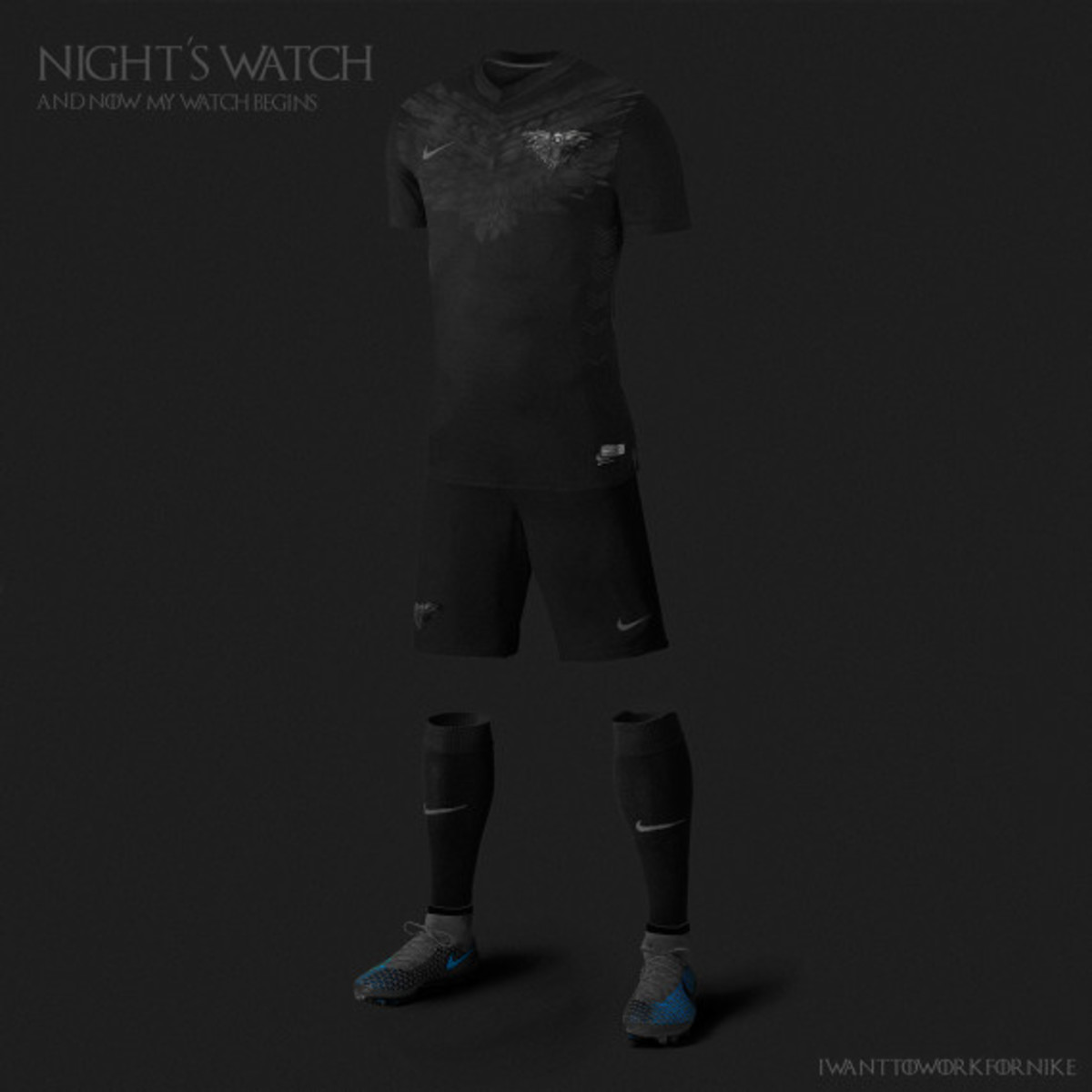 Game of Thrones-inspired Nike Soccer Kit Concepts by Nerea Palacios - 2