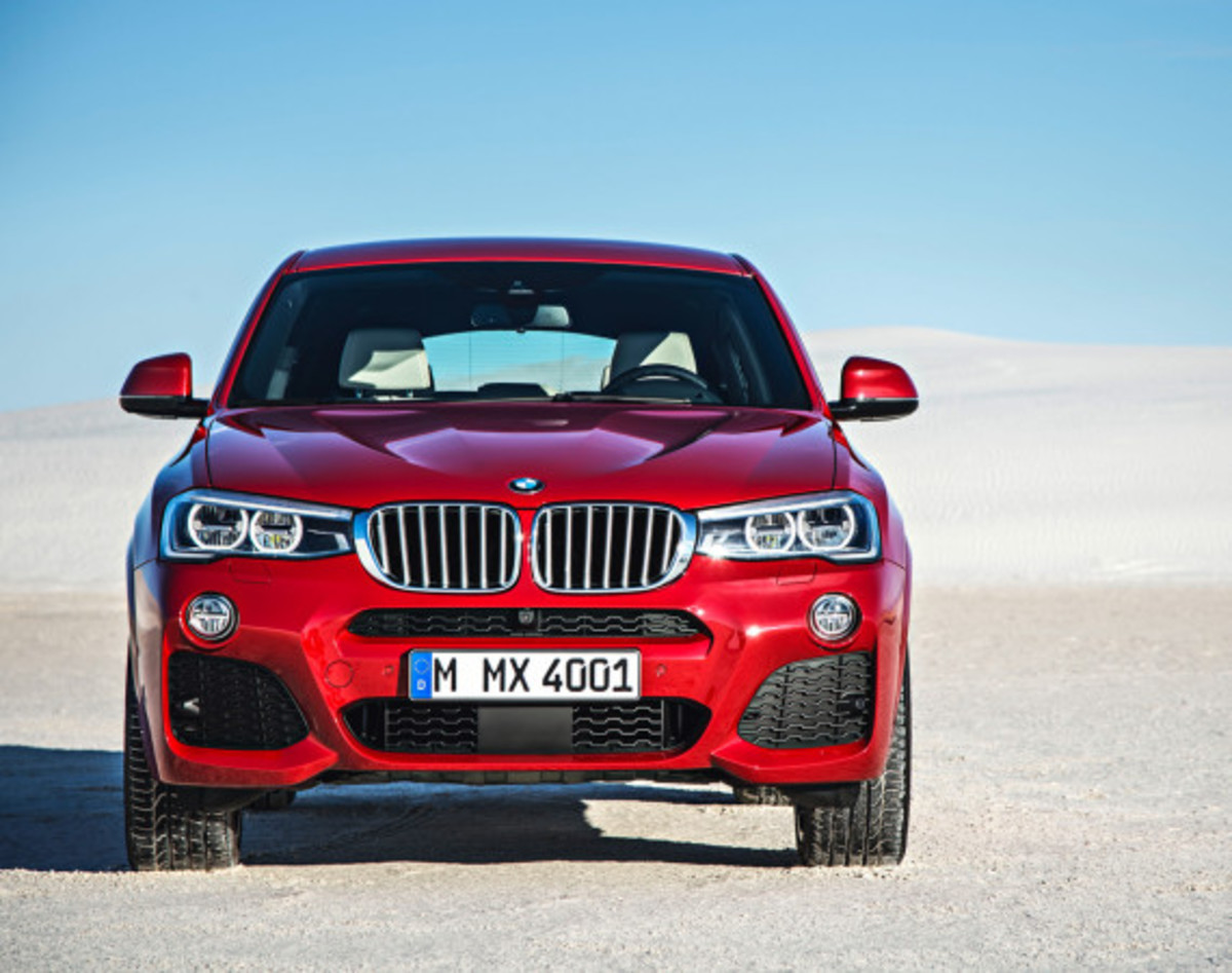 BMW X4 Sports Activity Coupe - Officially Unveiled - 3