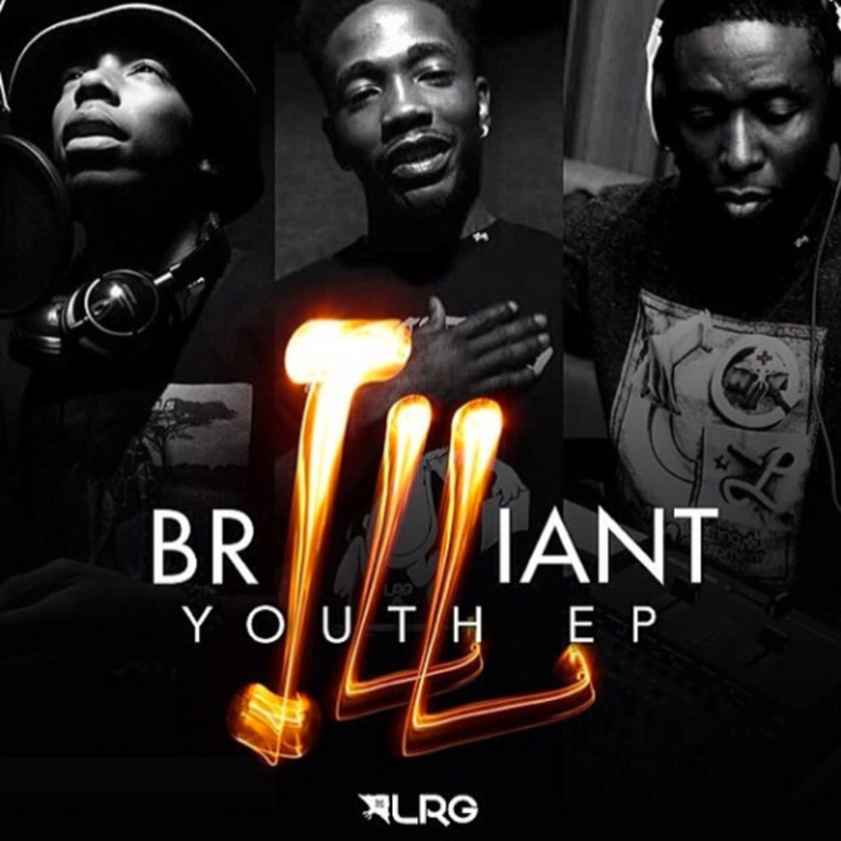 "LRG - ""Brilliant Youth"" EP with Dizzy Wright, Bishop Nehru & 9th Wonder - 0"