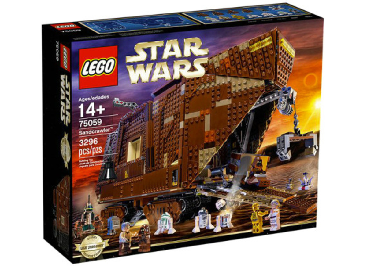 LEGO x Star Wars - Jawas Sandcrawler | For May The 4th Day - 1