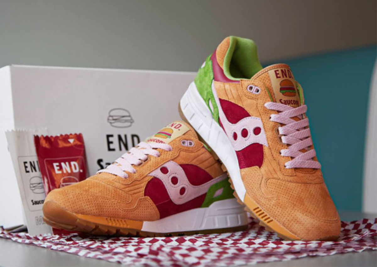 """best sneakers a5fa5 4c319 END. x Saucony Shadow 5000 – """"Burger"""" 